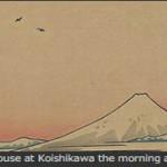広島・呉市立美術館で、『冨嶽三十六景×エッフェル塔三十六景』