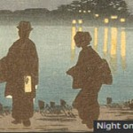 芹ヶ谷公園の桜も眺めながら。町田市立国際版画美術館で「清親―光線画の向こうに」