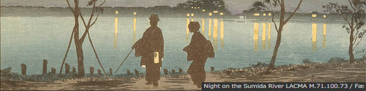 Night on the Sumida River LACMA