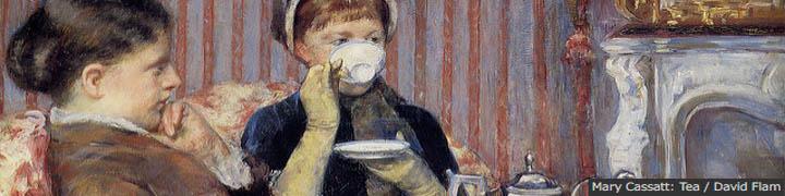 Mary Cassatt: Tea