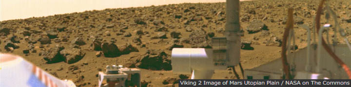 Viking 2 Image of Mars Utopian Plain