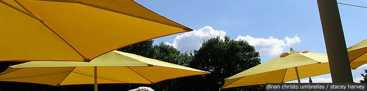 dinan christo umbrellas
