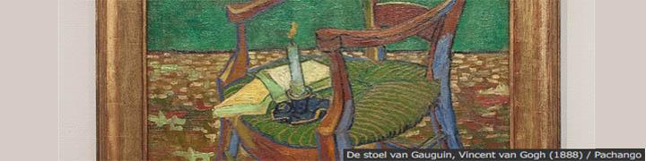 De stoel van Gauguin, Vincent van Gogh (1888)