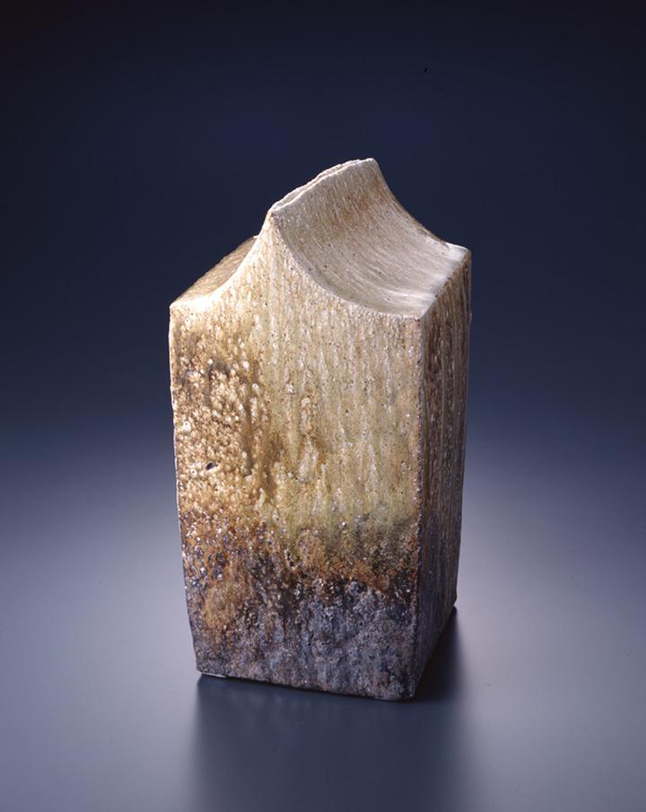 鈴木治 波の化石 1988年 滋賀県立陶芸の森
