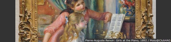 Pierre-Auguste Renoir: Girls at the Piano, 1892